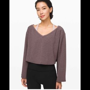 Lululemon Show Your Depth long sleeve top.Size M/L